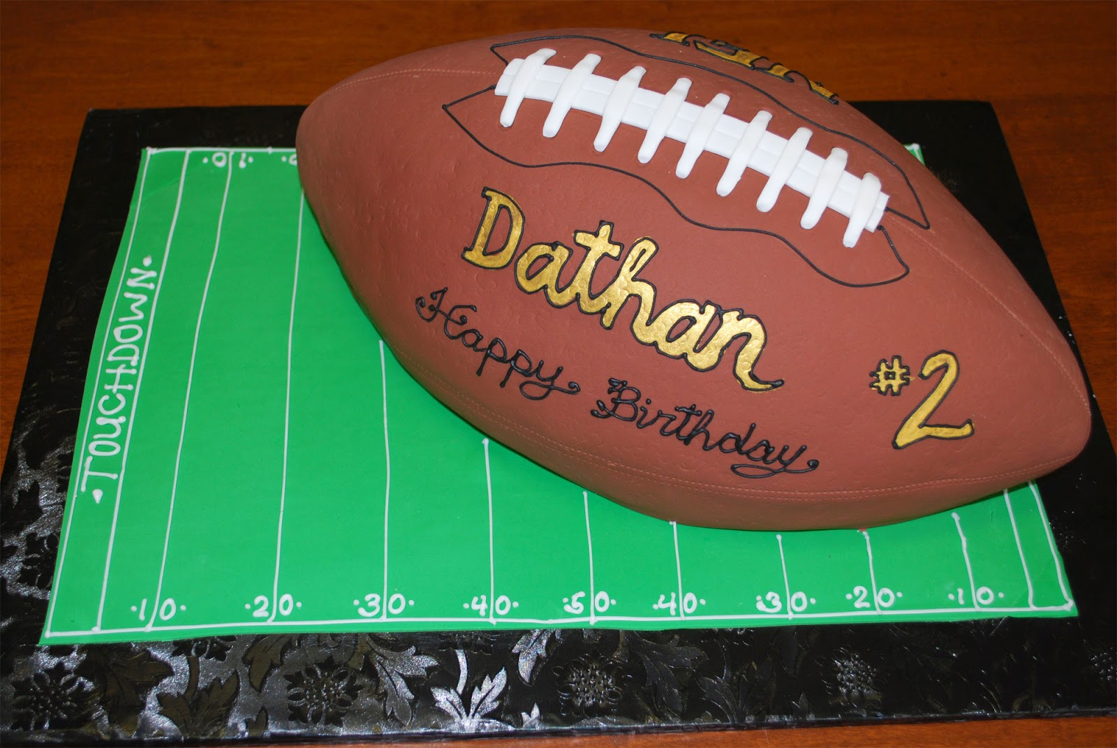 Top 22 Football Shaped Cakes For Kids Cakes Gallery