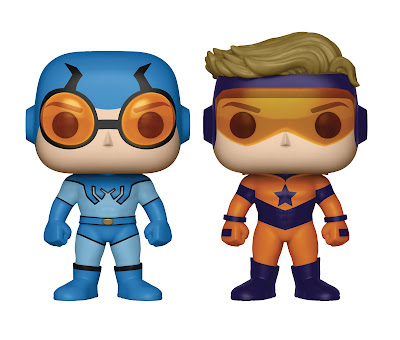 Previews Exclusive DC Comics Booster Gold & Blue Beetle Pop! Vinyl Figures Box Set by Funko