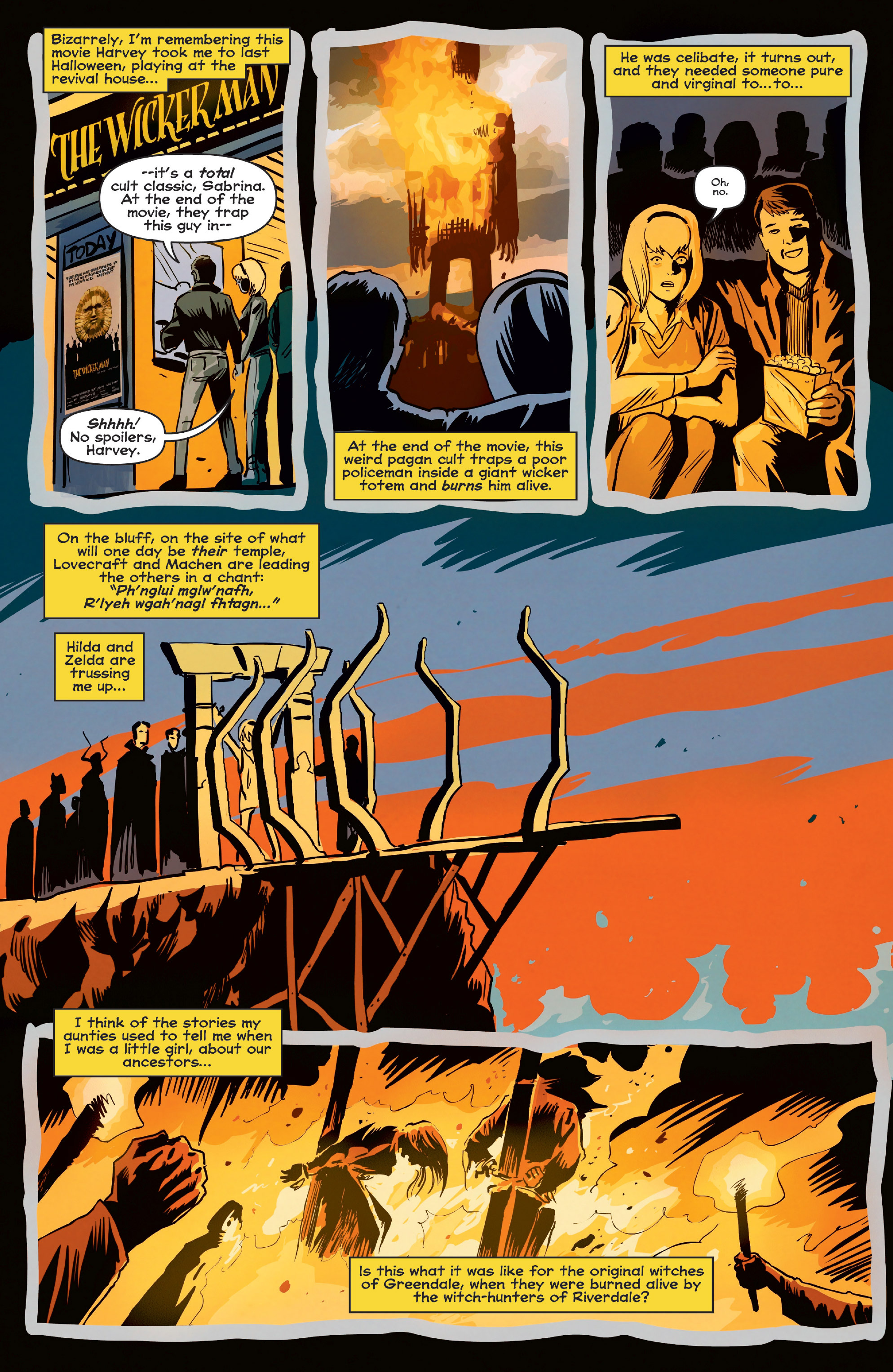 Read online Afterlife with Archie comic -  Issue #6 - 22