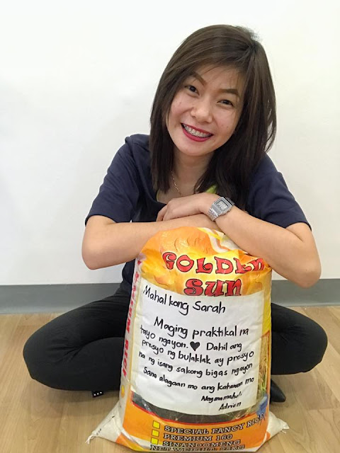 This Girl Received 'Bigas' Instead Of Flowers From Her Boyfriend on Valentine's Day And Their Story Has Gone Viral!