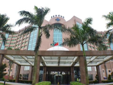 Facade of Pousada Marina Infante Hotel