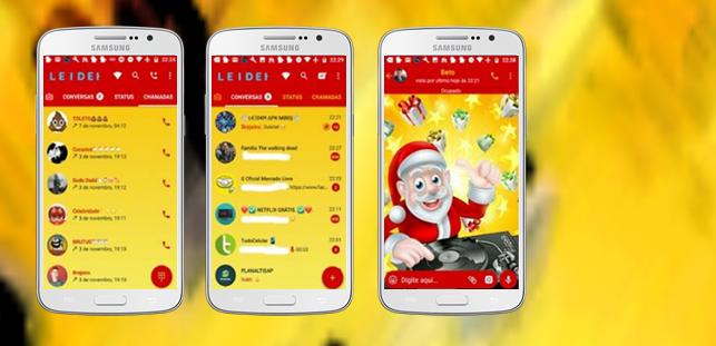 Baixar Temas GBWhatsapp - DJ Santa Claus