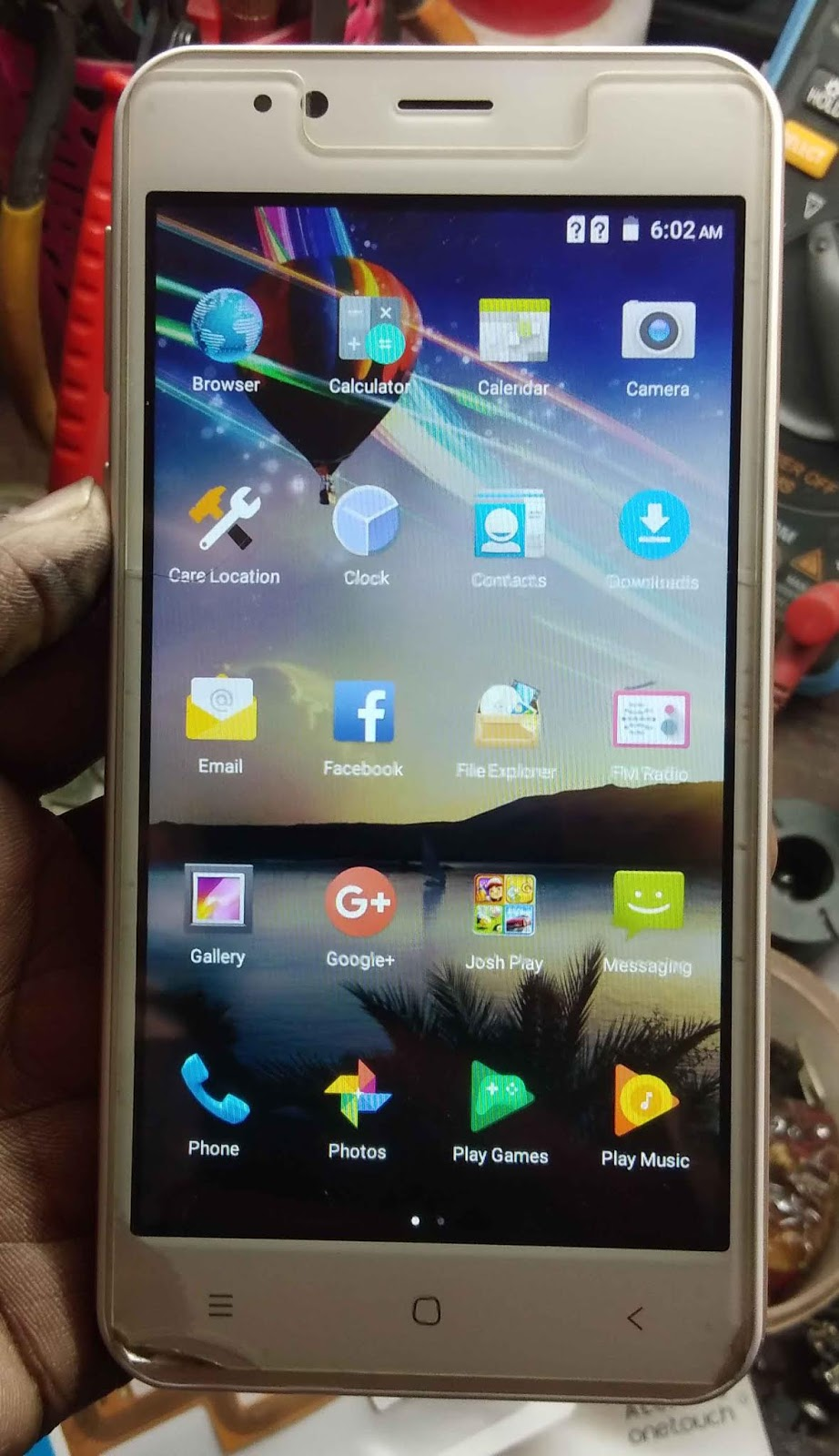 M Horse Top Note 8 Flash File Firmware Sp7731 51 Hang Logo
