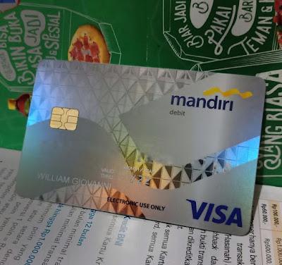Kartu ATM Chip Mandiri Visa