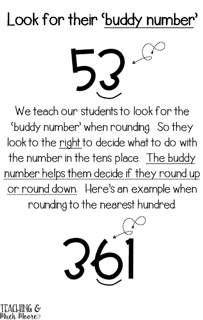 rounding with a buddy number, rounding tips