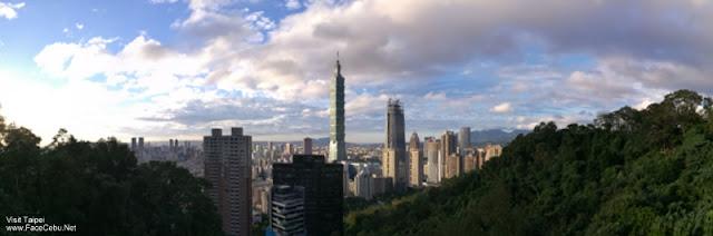Taipei 101 Panorama View