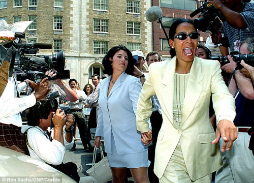 Judy Smith y Monica Lewinsky