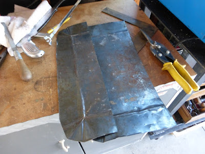 recycling some steel trays
