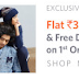 Myntra Loot offer - Flat 300 Off on your First Order & Free Shipping