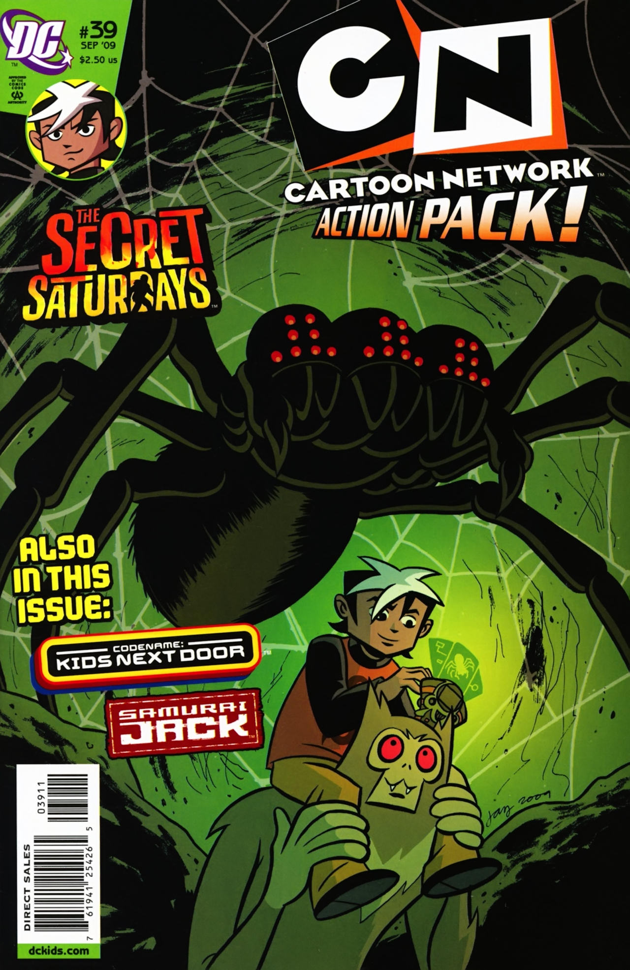 Cartoon Network Action Pack 39 Page 1