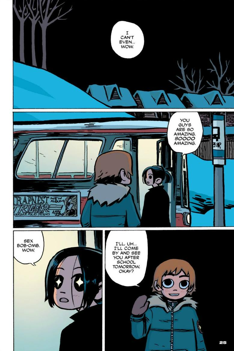 Read online Scott Pilgrim comic -  Issue #1 - 19