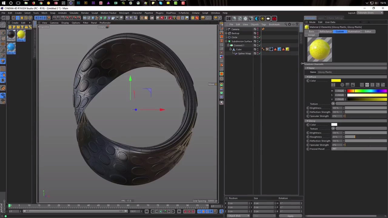 Creating a Mobius Loop Animation in Cinema 4D | CG TUTORIAL