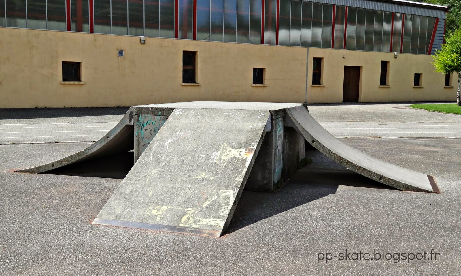 Ancien skatepark Moutiers