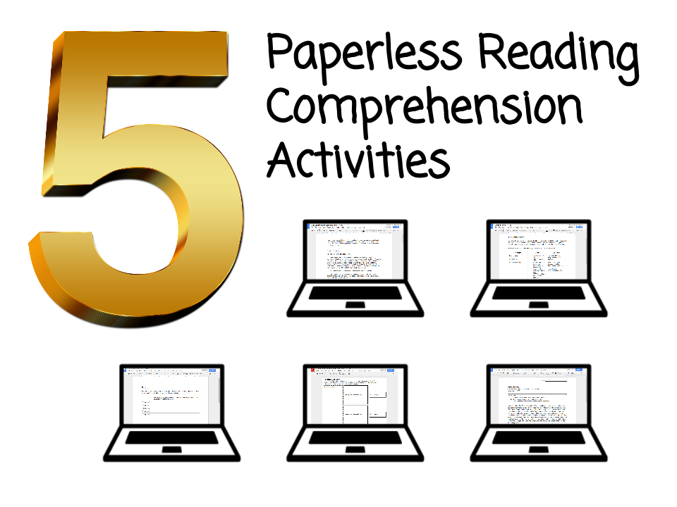 Learning Blog: 5 Paperless Reading Comprehension Activities