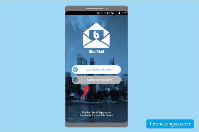 Cara menggunakan Email perusahaan pada hape android