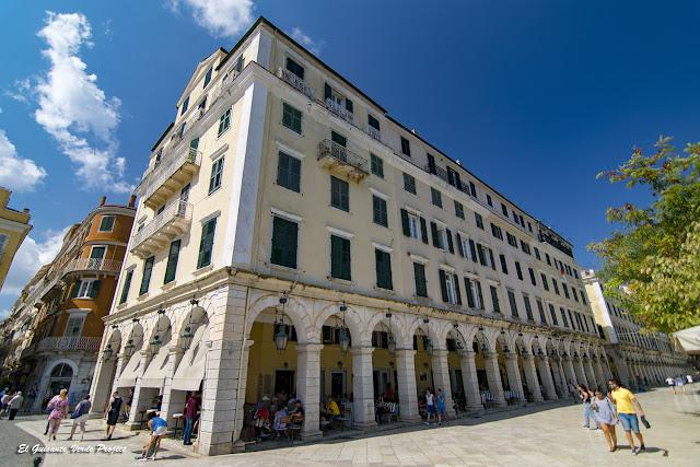 Liston - Corfu por El Guisante Verde Project