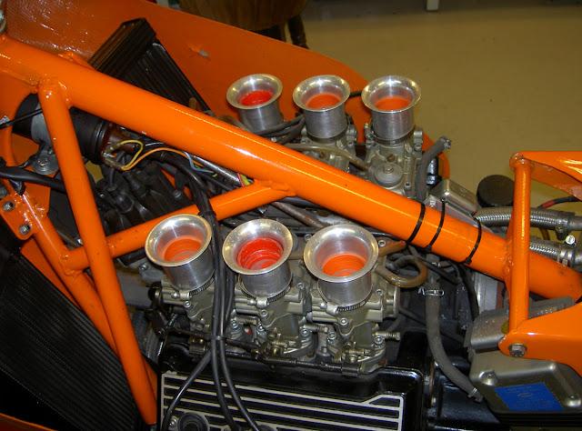 Laverda V6 Motorcycle Engine