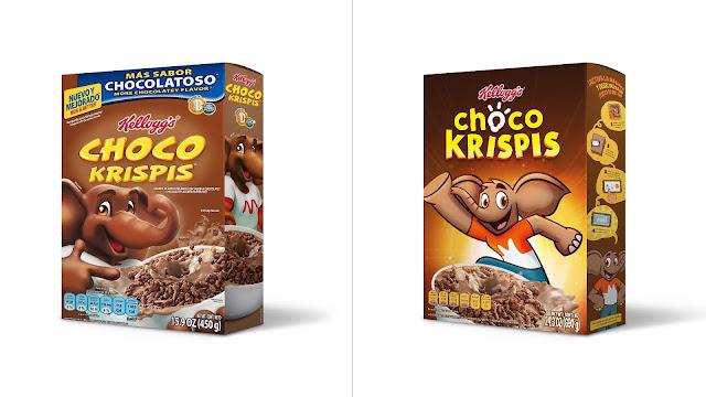 Choco-Krispis-nuevo-logo-packaging-nuevo-diseño-elefante-melvin