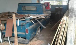 JURAGAN TRUK ANTIK : Chevrolet C10 Tahun 1965 Flat Deck Stir Kanan