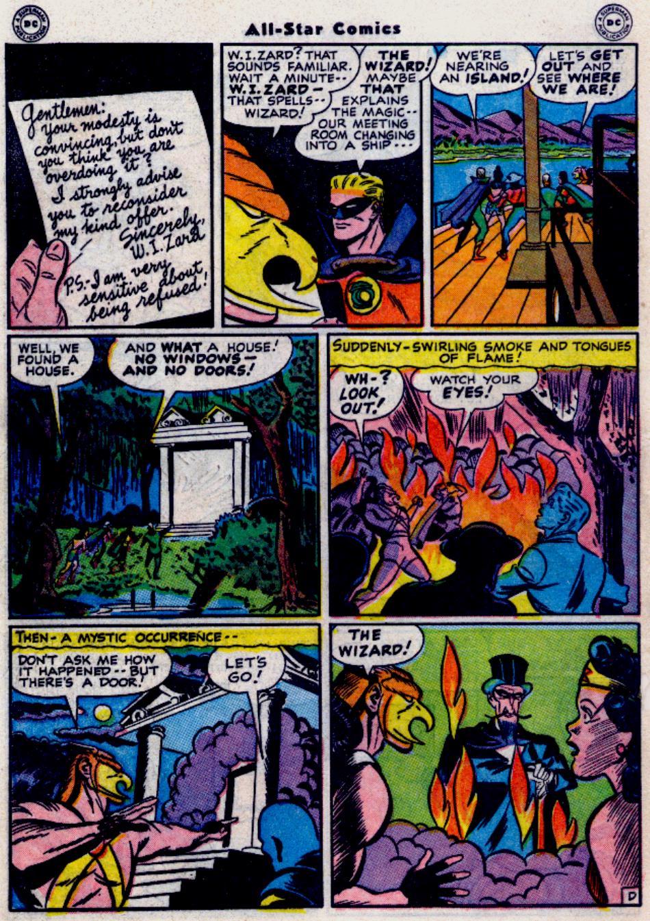 Read online All-Star Comics comic -  Issue #34 - 6