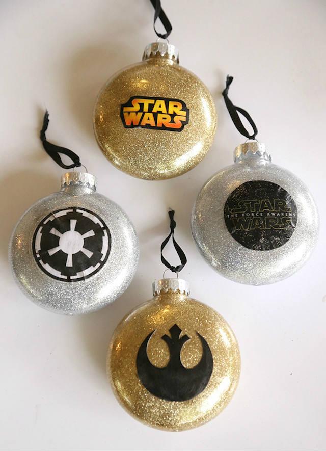 bolas navidad DIY star wars