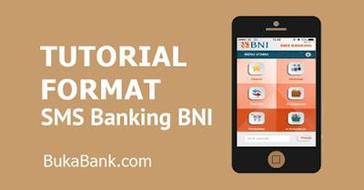 Format Kode SMS Bangking BNI
