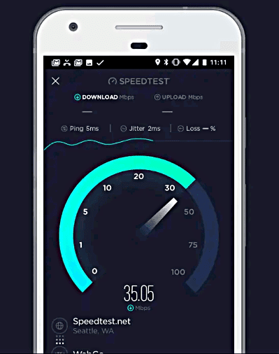 Net Speed Test By Ookla