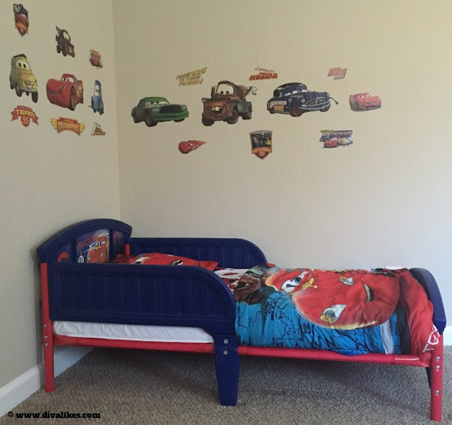 Disney Pixar Cars Theme Room
