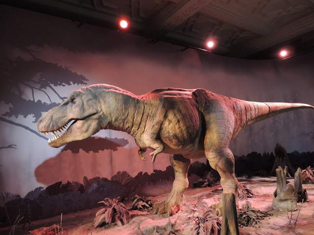 Replica of a T Rex