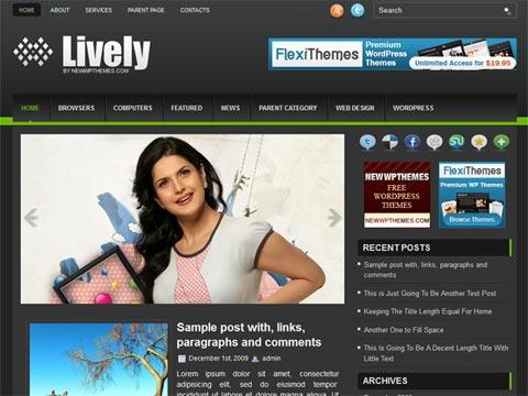 Lively Free WordPress Theme