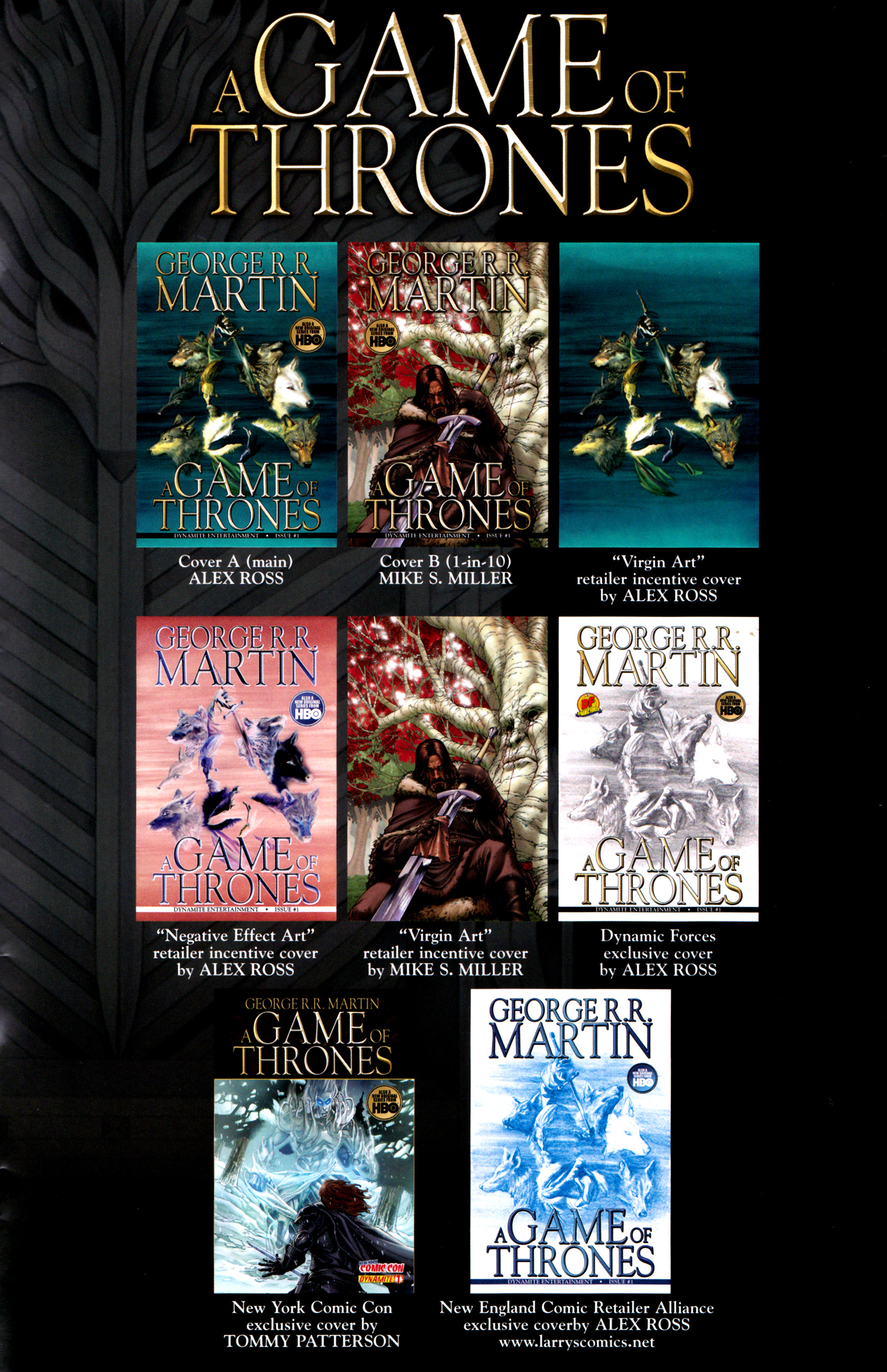 Read online A Game Of Thrones comic -  Issue #1 - 35