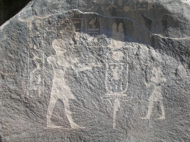 Inscripciones en la isla de Sohel (Asuán)