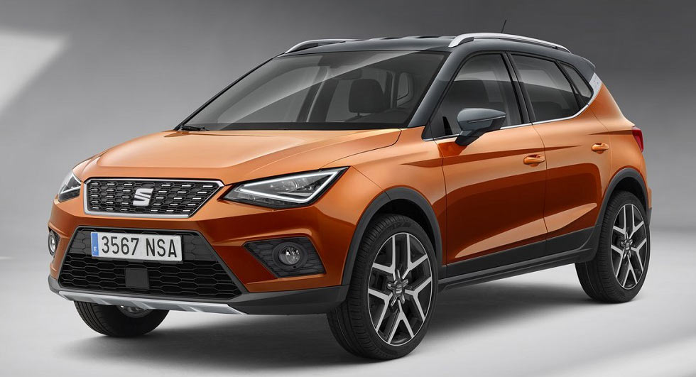 New Seat Arona Bows In Barcelona