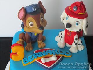bolo patrulha canina