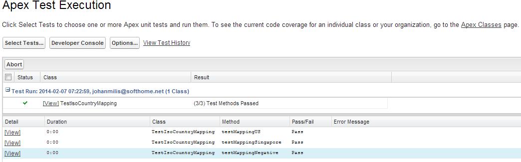 SimplySfdc com: Salesforce: Simple Test Method