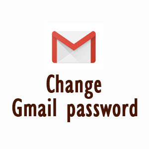 How to change my gmail password.