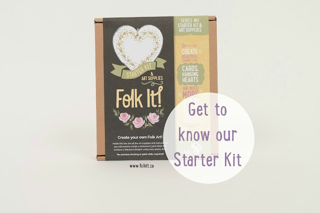 Find out more about our popular Series 1 Starter Kit. Learn Folk Art from You Can Folk It