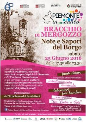 Note e Sapori del Borgo 25 Giugno Mergozzo (VB) 2016
