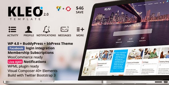 KLEO v2.0 Next level Premium WordPress Theme
