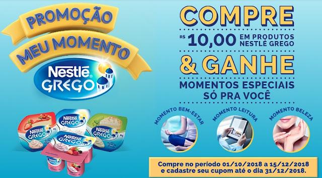"""Promoção: """"Meu momento Nestlé Grego"""" Blog Top da Promoção http://topdapromocao.blogspot.com #topdapromocao @topdapromocao acompanhe nossas redes sociais Youtube Instagram Facebook Twitter Pinterest @NestleGrego #nestlegrego"""