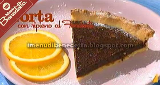 Torta Con Ripieno Di Fondente La Ricetta Di Benedetta Parodi