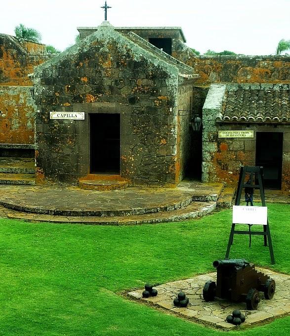 O Fuerte de San Miguel, no Chuy, foi reconstruído, em 1933.