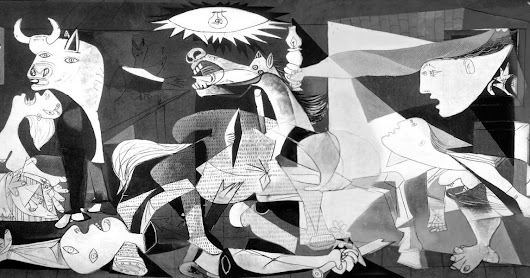 Witnessing Guernica [Ekphrastic] #NPM #PoemaDay #NaPoWrMo18 Day 31