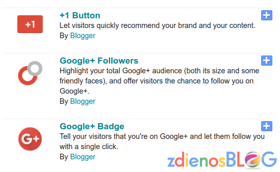no more google+ widgets - Update Terbaru Google+ dan Blogger