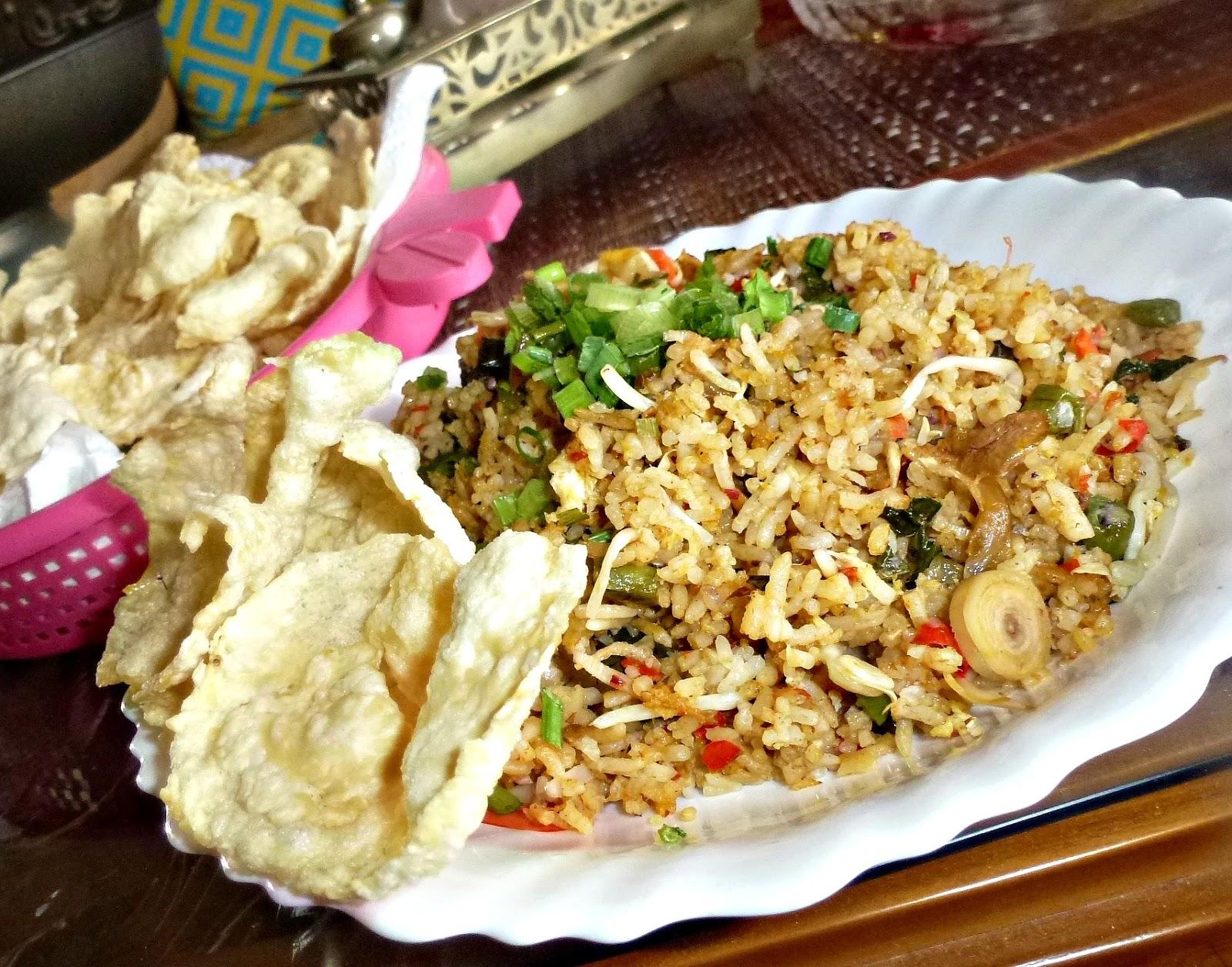 resepi nasi goreng kerabu