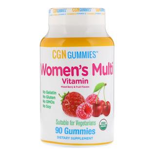 فيتامينات حلوى للمضغ للنساء من كاليفورنيا اي هيرب