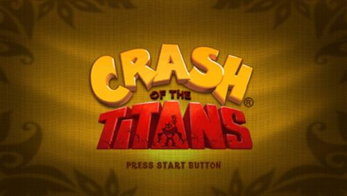crash of the titans psp rom cool