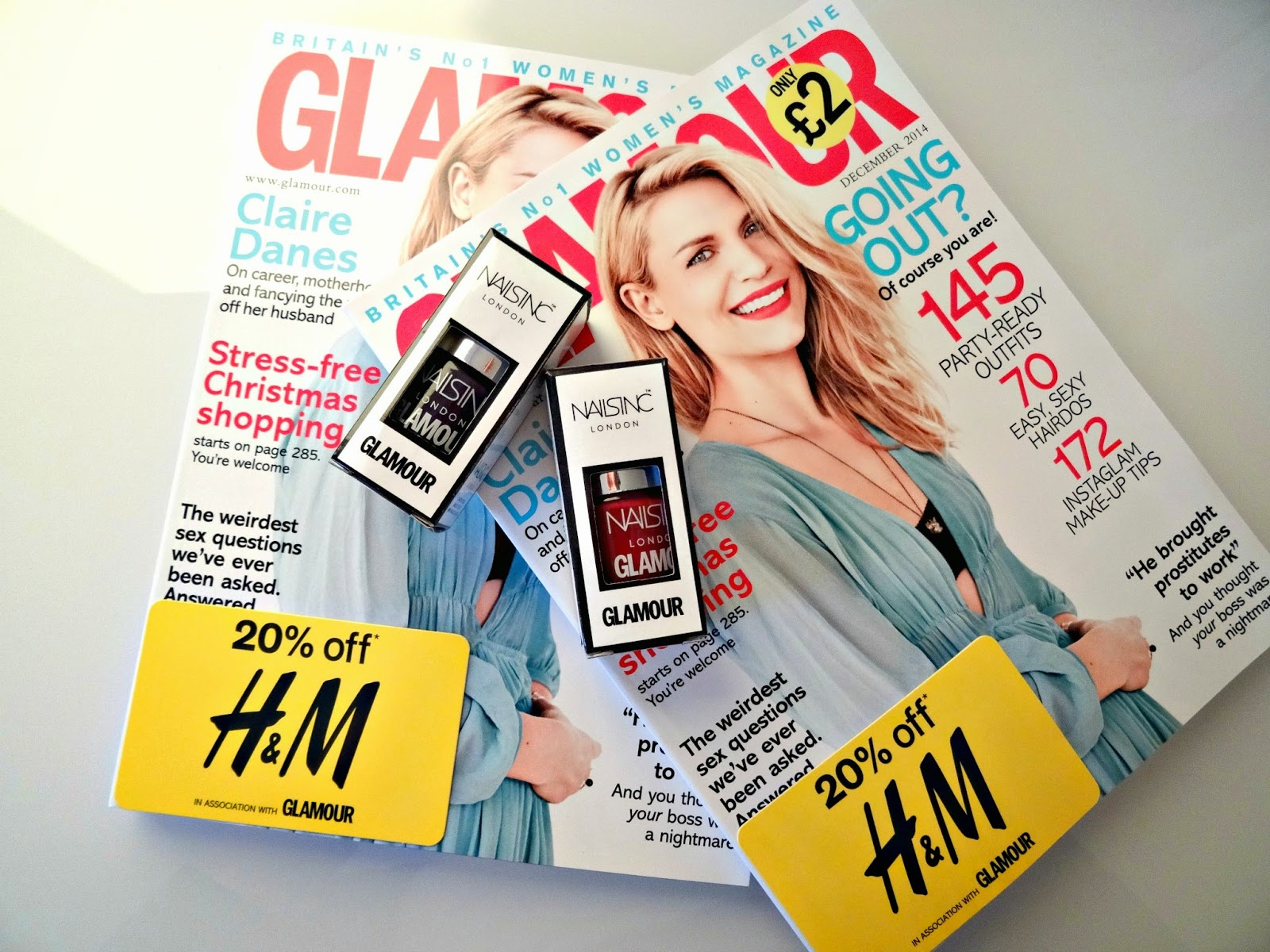 Glamour December 2014 issue review