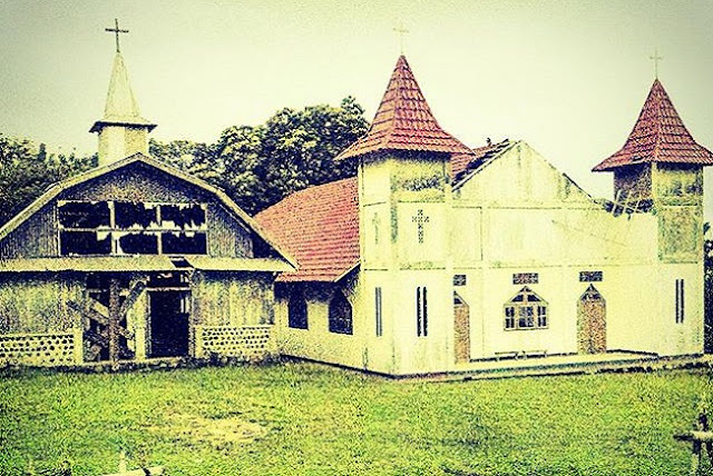 Salah Satu Gereja Katolik Di Manggarai, Flores