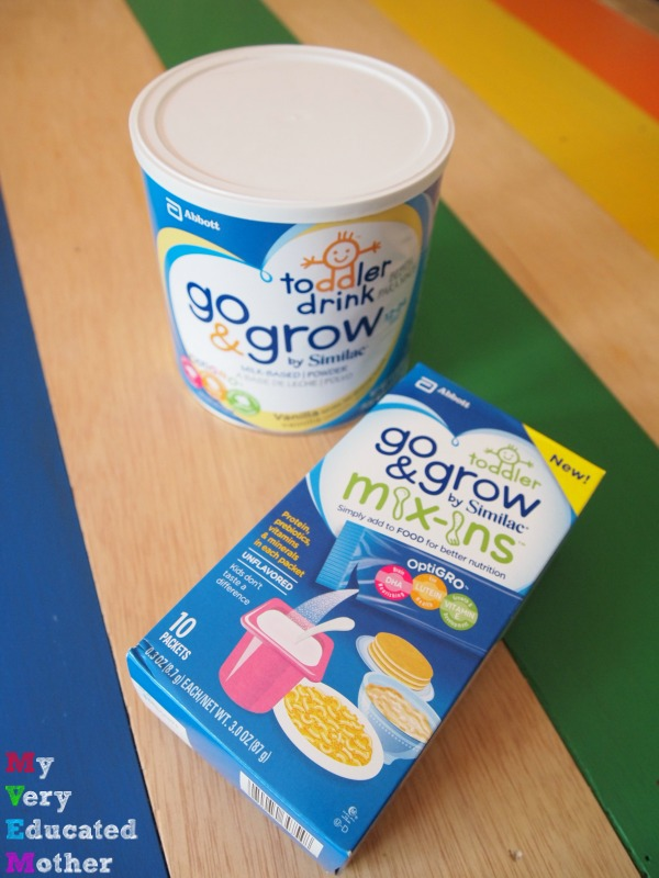 Go & Grow by Similac® MIx-Ins™ [spon]